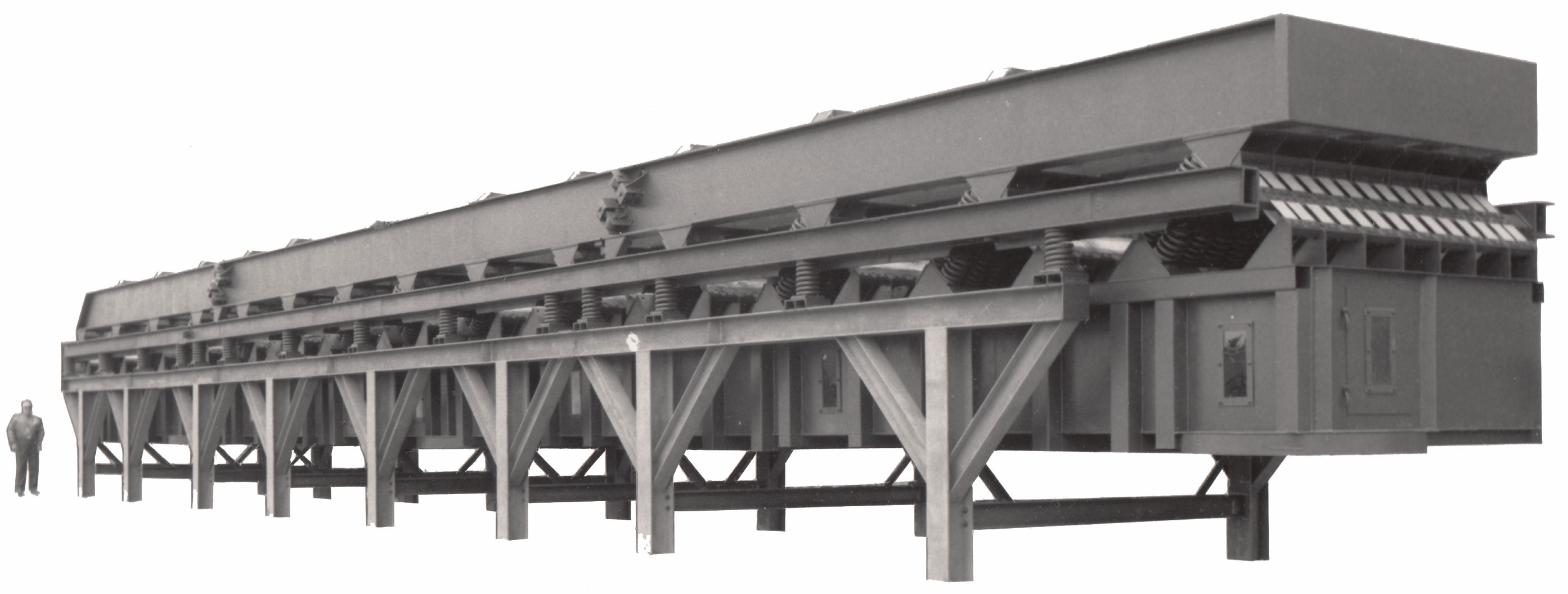 Solid Fuel Distribution Conveyor. It consumes 10 HP.