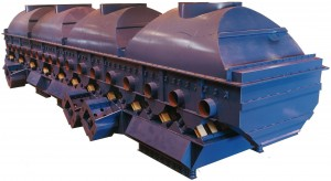 Vibrating Fluidized Bed Dryer for Foundry Sand
