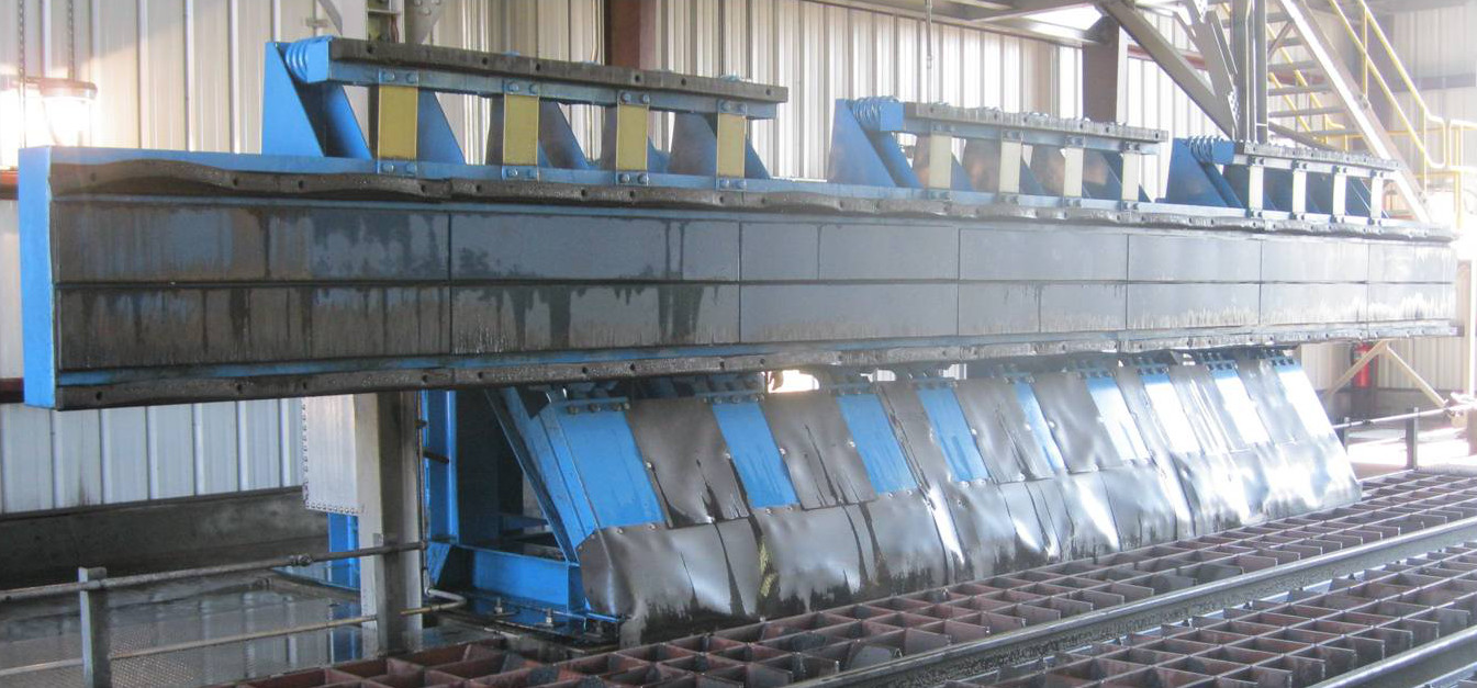Rail Car Discharger